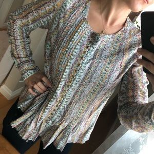 Maeve Floral Shirt Small
